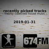 recently picked tracks (2019-01-31) on 674FM
