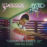 Mateo Paz live @ Stars N Bars Abu Dhabi (26.12.2017)