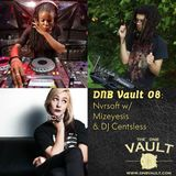 DNB VAULT PODCAST 008 WITH NVRSOFT – SPECIAL GUEST MIXES BY MIZEYESIS & CENTSLESS