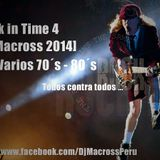 Mix back in time 4 [DjMacross 2014] Varios 70´s - 80´s