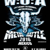 Final de la Batalla de Metal 2016 (WOA Metal Battle Mexico) - Full show