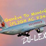 Genève To Montréal (FLIGH AC 834)