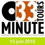 33 TOURS MINUTE - Le meilleur de la musique indé - 15 juin 2016