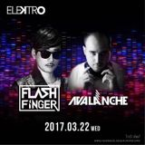 AvAlanche DJ Live Recording @ Asia Tour at Elektro, Taipei, Taiwan 22nd Mar 2017
