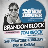Infectious Rhythm @ The Townhouse - with Brandon Block - 23rd Feb 2013