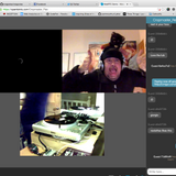 Cropmaster Flex WebRTC streaming test lulz, recorded live at Cropmaster Towers
