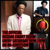 'The Official Reggae Chart Show' on Mi-Soul - Saturday 11th April 2015