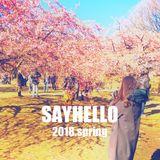 SAYHELLO 01 -2018 spring-