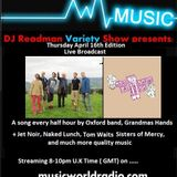 Dj Readmans Radio Variety Show: Grandmas Hands, Naked Lunch, Last of the Dogs and much more