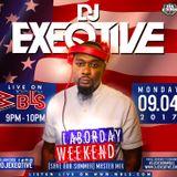 DJ EXEQTIVE LIVE on 107.5fm  WBLS LABOR DAY
