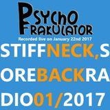 Stiff Neck, Sore Back Radio 01/2017