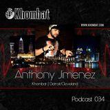 Khombat Podcast #034 feat. Anthony Jimenez (Blank Code) Detroit, USA