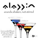 Aladdin - Ananda shaken, not stirred