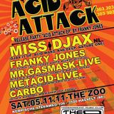 Miss Djax - Live @ Acid Attack, The Zoo, Belgium (05-11-2011)