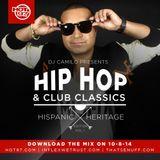 "DJ CAMILO PRESENTS ""HIP HOP & CLUB CLASSICS"" HISPANIC HERITAGE"