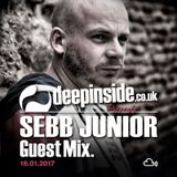 SEBB JUNIOR is on DEEPINSIDE #02
