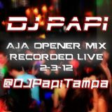 DJ Papi - AJA Opener Mix (Recorded Live 2-3-12) (With Tags) (Clean)