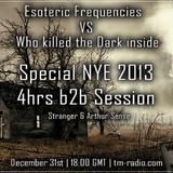 Arthur Sense - Esoteric Frequencies NYE 2013 Special on tm-radio.com