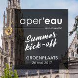 aper'eau Antwerpen 2017 - Editie 1 - Groenplaats