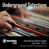 Underground Selections #121 CEV's Guest Mix
