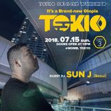 Gtopia TOKIO at WOMB live set by DJ Sun J