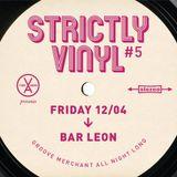 Groove Merchant Strictly Vinyl #5 (Bar Leon 12-4-19)