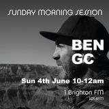 4th June 2017 10-12am / Ben GC / Chilled Sunday Morning Session / 1BTN