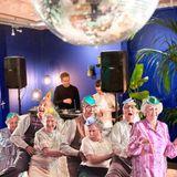 Sjang Kabang b2b H A A D (aka Flamingo Soundsystem) at TEFAF night, The Dutch, Maastricht