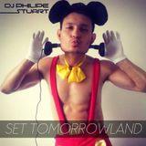 SET TOMORROWLAND DJ PHILIPE STUART