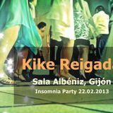 Kike Reigada @ Sala Albéniz Gijón (22.02.2013)