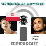 Egzipodcast - UFC Fight Night (zapowiedź gali)