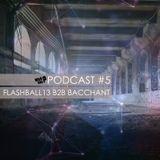 WN Podcast #5 - Flashball13 B2B Bacchant