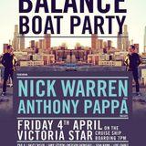 Anthony Pappa - @ Darkbeat presents BALANCE Boat Party Melbourne