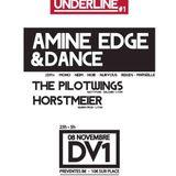 2012.11.08 - Amine Edge & DANCE @ DV1, Lyon, FR