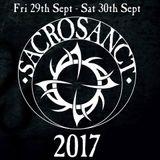 The Pandemonium Shadow Show - 23rd September 2017 -Sacrosanct Warm Up