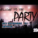 DJ ARTHUR ..........MIX NOVIEMBRE 2015........:3
