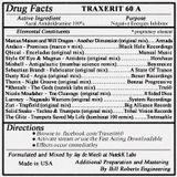 Traxerit 60 A (Aural Antidoldrumine) Mixed by Jay de Miceli at NutekK Labs