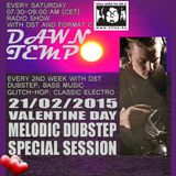 21/02/2015 Valentine Day Special Melodic Dubstep Session by DST @ Radio Tilos, Dawn Tempo