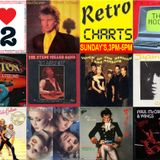 Retro Charts show on 106.9 N-Live Radio - 14.01.18 - With Jay Lucas