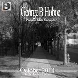 George B (Dj Hoboe)_October Promo Mix Sampler 2014.