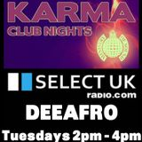 DeeAfro aka Miss Crazy D - Radio Show 17th jan 12