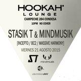 Stasik T & Mindmusik Recorded Live @ Hookah Condesa - August 21st, 2015