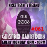 Andry Cristian & Alesana - Club Sessions 061 - Guest Mix Daniel Dubb - Live Kickstream Tv