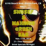 Smosef Live @Rush Bar 11/11/2016 Part One