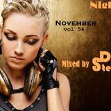 Night House Emission November  vol. 54 Mixed by DeejaY Steff ( DutshHouse,ElectroHouse ).01.11.2015