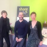 Ask Sarah on Share Radio with Sarah Pennells, talking to Richard Blanco, Jacky Peacock and Christoph