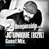 JC UNIQUE from U2R is on DEEPINSIDE #02
