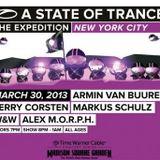 Armin van Buuren (Warm-up Set) - Live @ A State of Trance 600 New York City (30.03.2013)