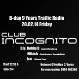 B-day 9 Years Traffic Radio @ Incognito Varna (28.02.14) -part.2