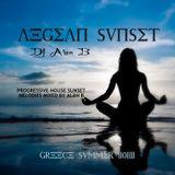 """AEGEAN SUNSET """"GREECE SUMMER 2013"""""""